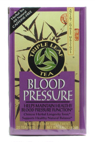 Blood Pressure, 6 of 20 BAG, Triple Leaf Tea