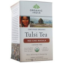 Red Chai Masala, 6 of 18 CT, Organic India