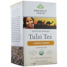 Lemon Ginger, 6 of 18 CT, Organic India
