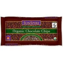 Semi Sweet Choc Chp 42% Cacao, 25 LB, Sunspire