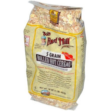 5 Grain Rolled, 25 LB, Bob'S Red Mill