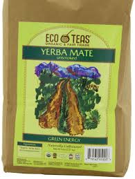 Yerba Mate, Unsmoked, FT, 5 LB, Eco Teas