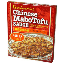 Chinese Mabo Tofu Sauce Mild 5.29 oz  From House Foods