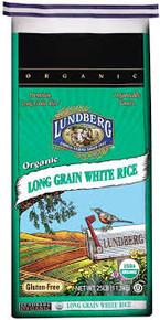 Long Grain, White, 25 LB, Lundberg