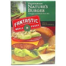 Nature Burger, 3 of 3.33 LB, Fantastic World Foods