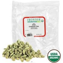 Cardamom Pods, Whole, Green, 1 LB, Frontier Natural Products