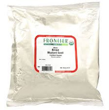 Mustard Seed, Brown, Whole, 1 LB, Frontier Natural Products