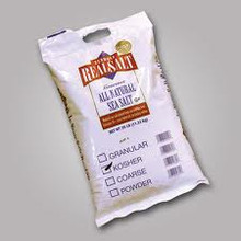 Salt, Kosher, 25 LB, Real Salt
