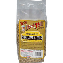 Sunflower Seeds, Raw Bulk, 25 LB, Bob'S Red Mill