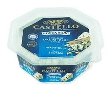 Blue Crumbled Cups, 6 of 5 OZ, Rosenborg Castello