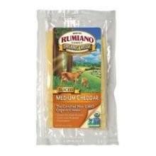 Cheddar, Medium, RBST Free, 12 of 8 OZ, Rumiano