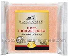 Cheddar, Sharp Aged 9 Months, 18 of 7 OZ, Black Creek