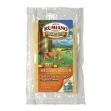 Cheddar, Medium, RBST Free, 12 of 6 OZ, Rumiano