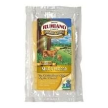Cheddar, Mild, RBST Free, 12 of 6 OZ, Rumiano