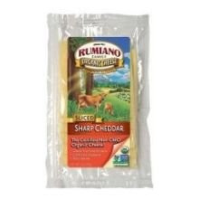Cheddar, Sharp, RBST Free, 12 of 6 OZ, Rumiano
