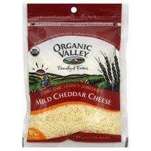 Mild Cheddar, Shrd Angel Hair, 12 of 6 OZ, Organic Valley