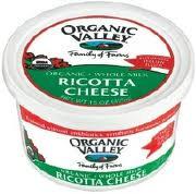 Ricotta, 6 of 15 OZ, Organic Valley