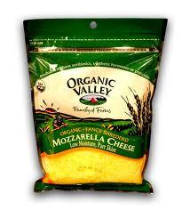 Mozzarella, Part Skim, 12 of 8 OZ, Organic Valley