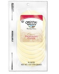 Sliced Provolone, 12 of 6 OZ, Organic Valley