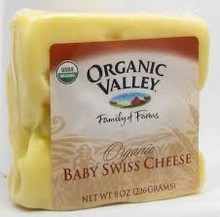 Baby Swiss, 12 of 8 OZ, Organic Valley