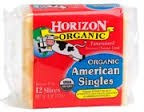 American, Single Slices, 12 of 8 OZ, Horizon