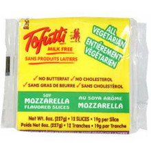 Mozzarella Slices, 12 of 8 OZ, Tofutti Brands, Inc.