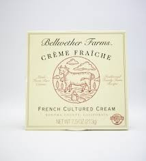 Creme Fraiche, 8 of 7.5 OZ, Bellwether Farms