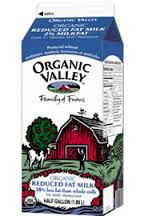 2% Low Fat Milk, 6 of 64 OZ, Organic Valley