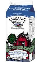 2% Low Fat Milk, 6 of 64 OZ, Organic Valley