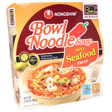 Nong Shim Spicy Seafood Bowl 3 oz  From Nong Shim