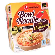 Nong Shim Spicy Chicken Bowl 3 oz  From Nong Shim