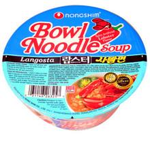 Nong Shim Spicy Lobster Bowl 3 oz  From Nong Shim