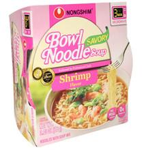 Nong Shim Savory Shrimp Bowl 3 oz  From Nong Shim