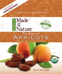 Apricots, Turkish, 12 of 6 OZ, Made In Nature
