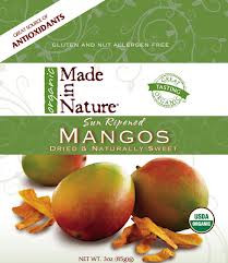 Mangos, 12 of 3 OZ, Made In Nature