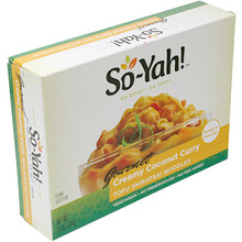 So-Yah! Coconut Curry Tofu Shirataki 10 oz  From House Foods