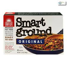 Smart Ground, 12 of 12 OZ, Lightlife Foods