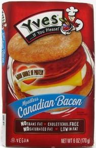Veggie Canadian Bacon, 8 of 6 OZ, Yves