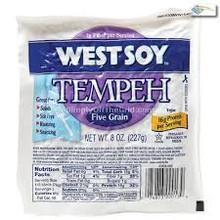 Tempeh, Five Grain, 12 of 8 OZ, Westsoy