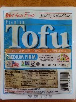 Medium Firm (Regular), 12 of 14 OZ, House Foods