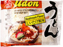 Myojo Udon Mushroom 7.22 oz  From Myojo