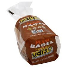 Bagel, Plain 4pk, 8 of 14 OZ, Udi'S Gluten Free