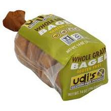 Bagel, Whole Grain 4pk, 8 of 14 OZ, Udi'S Gluten Free