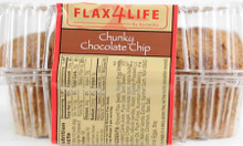 Chunky Chocolate Chip, 6 of 14 OZ, Flax4Life