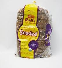 Super Seeded, 8 of 24 OZ, Rudi'S Organic Bakery