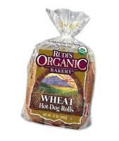 Wheat Hot Dog Rolls 6ct, 8 of 12 OZ, Rudi'S Organic Bakery