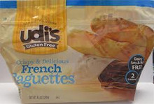 French Baguettes, 6 of 8.5 OZ, Udi'S Gluten Free
