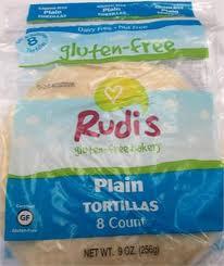 Plain, 9 Inch/8 CT, 12 of 9 OZ, Rudi'S Gluten Free Bakery