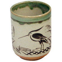 Sushi Cup Heron in the Grass  From Kotobuki