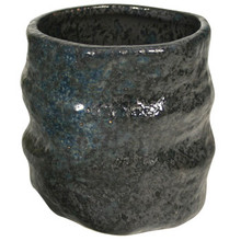 Sushi Tea Cup Dark Stoneware  From AFG